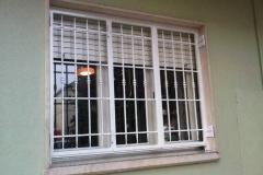 Inferriata per finestra tre ante